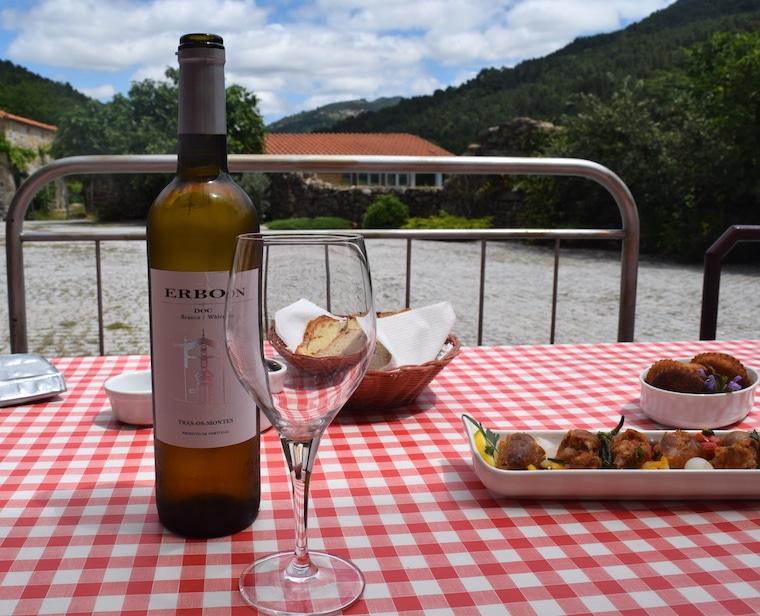 vinícolas em Portugal almoço