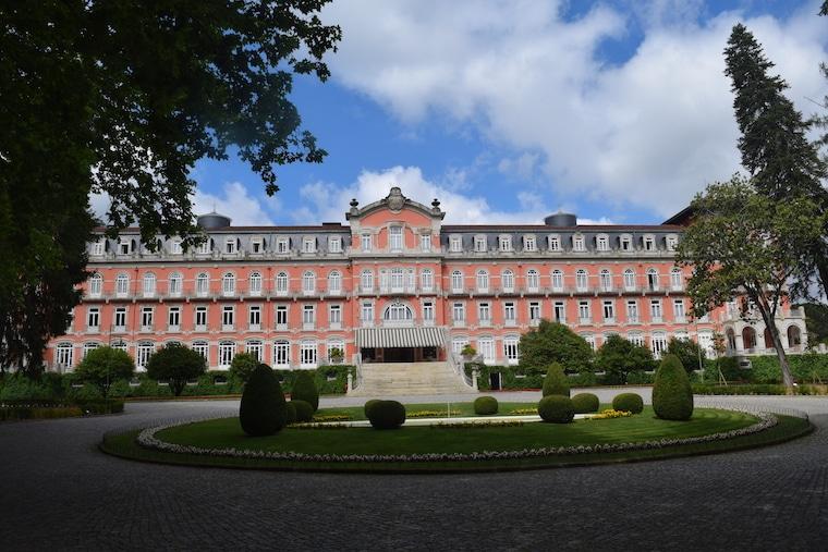 vinícolas em Portugal palacio vidago
