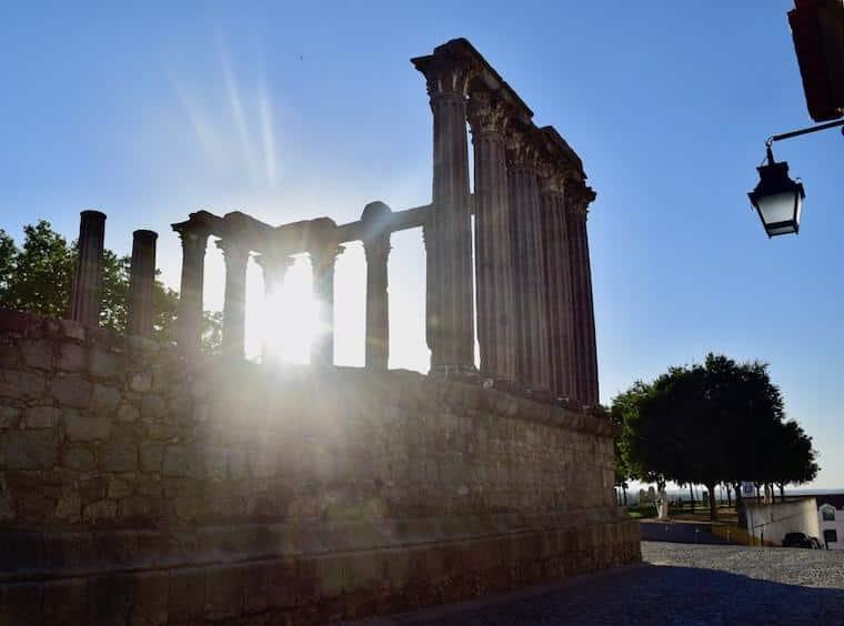 alentejo templo romano evora