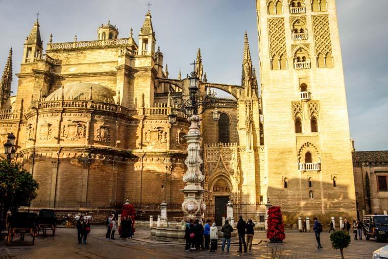 Fundos da Catedral de Sevilha