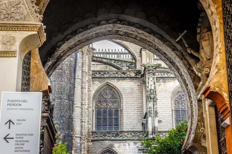 Detalhe da Catedral de Sevilha