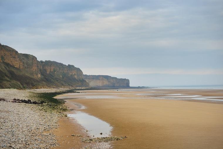 lugares que mudaram a história normandia praia