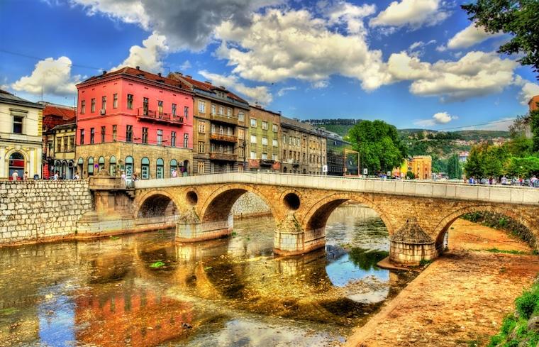 lugares que mudaram a história ponte latina saravejo