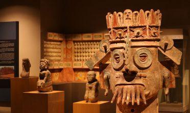Visita ao Museu Nacional de Antropologia, na Cidade do México