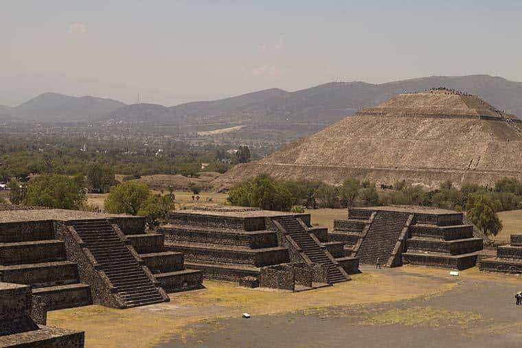 Visita a Teotihuacan, México