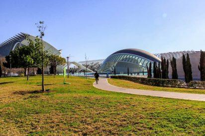 A Cidade das Artes e das Ciências de Valência, na Espanha