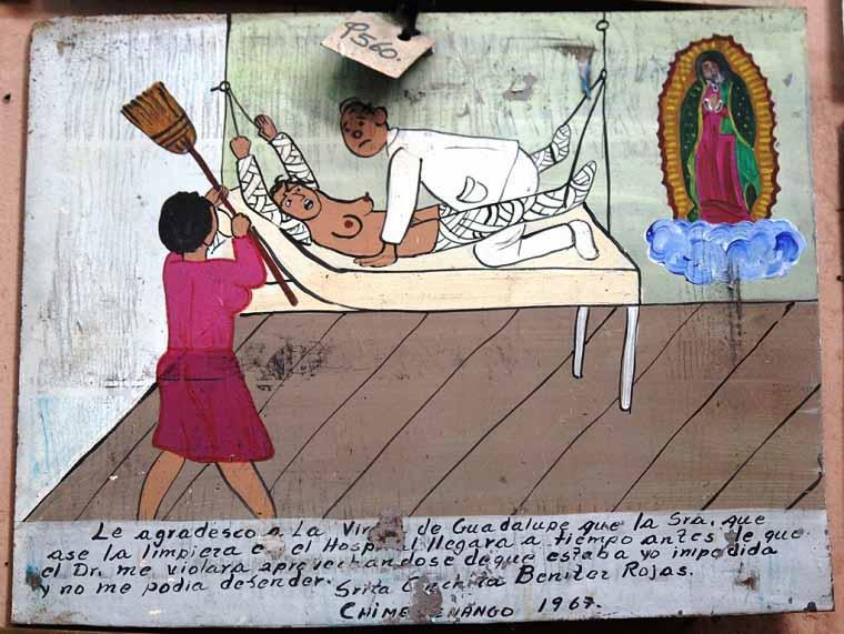 ex-votos arte mexicana