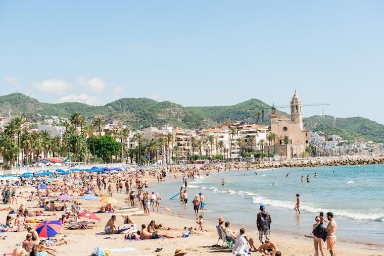 Praias de Sitges