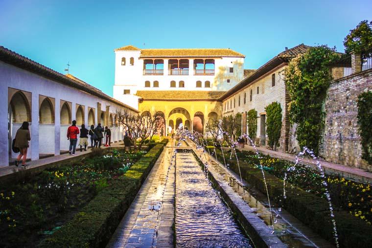 Jardins dos Palácios da Alhambra