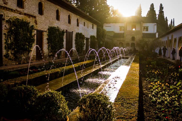 Jardins dos palácios da Alahmbra