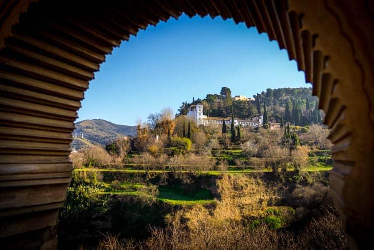 Alhambra - janela mourisca