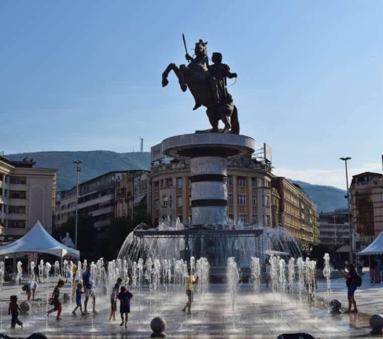 o que fazer em skopje macedonia