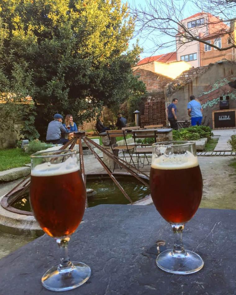 onde comer no porto letraria beer