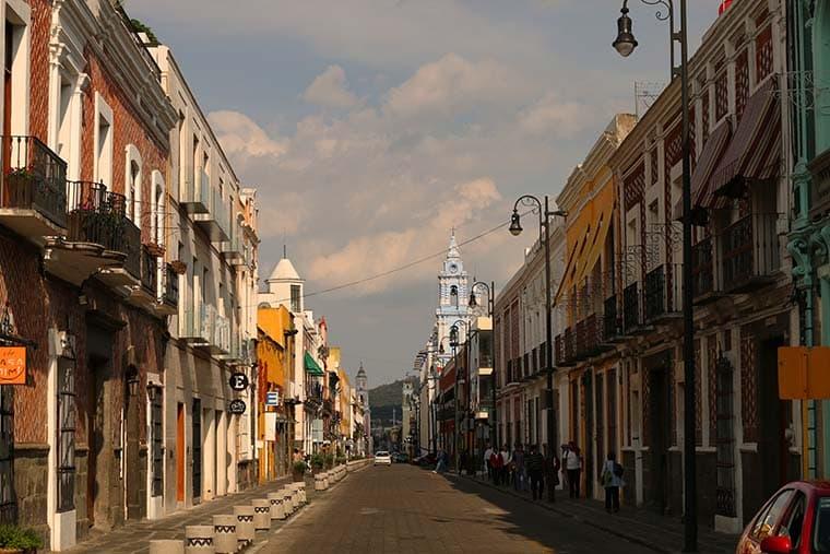 Puebla, Viagem