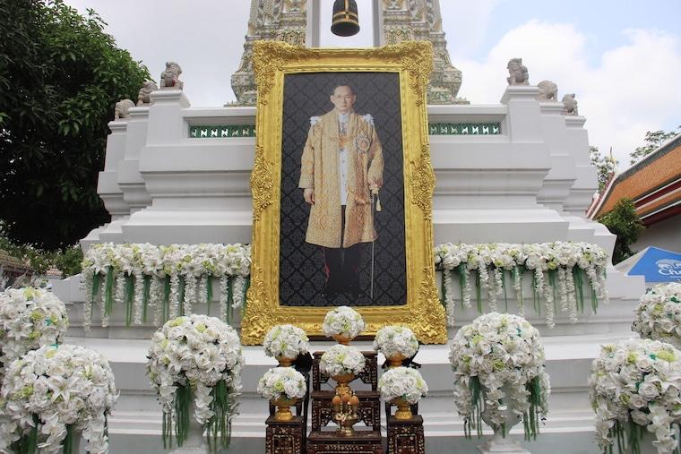 Morte do rei da Tailândia