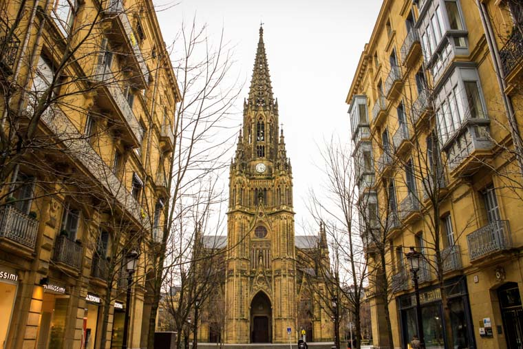 O que fazer em San Sebastian: catedral