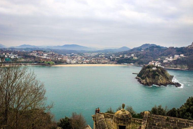 O que fazer em San Sebastian: Monte Urgull