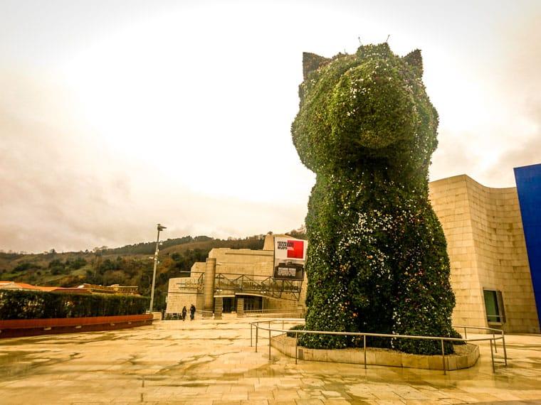 O que fazer em Bilbao: Cachorro mascote da cidade