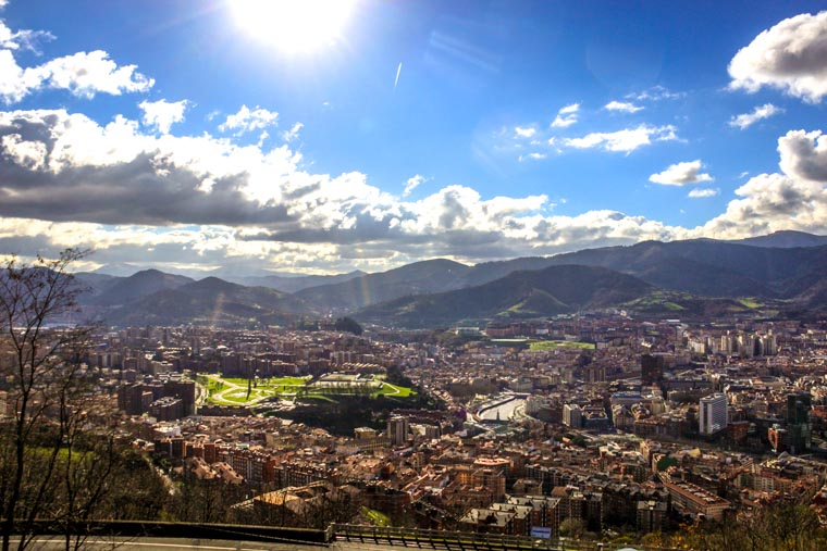 O que fazer em Bilbao: Mirador Artxanda