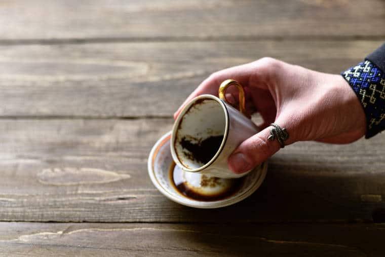 cafe turco sorte borra