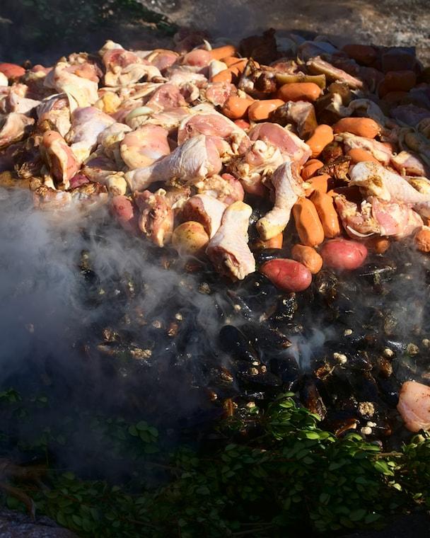 Comidas típicas de Chiloé: Curanto