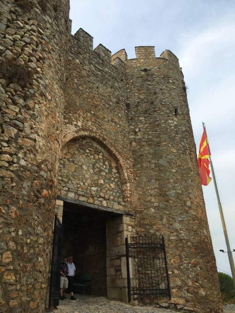 fortaleza ohrid