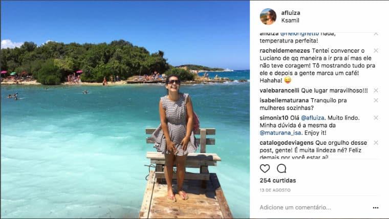 instagram destinos de viagem