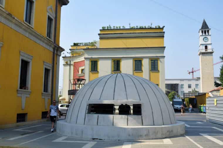 tirana albania bunker