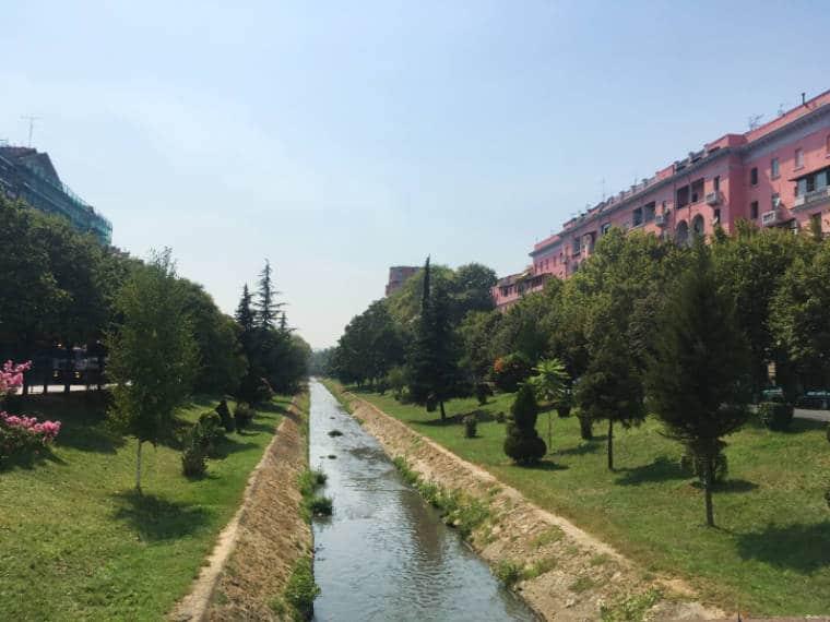 tirana albania rio canal