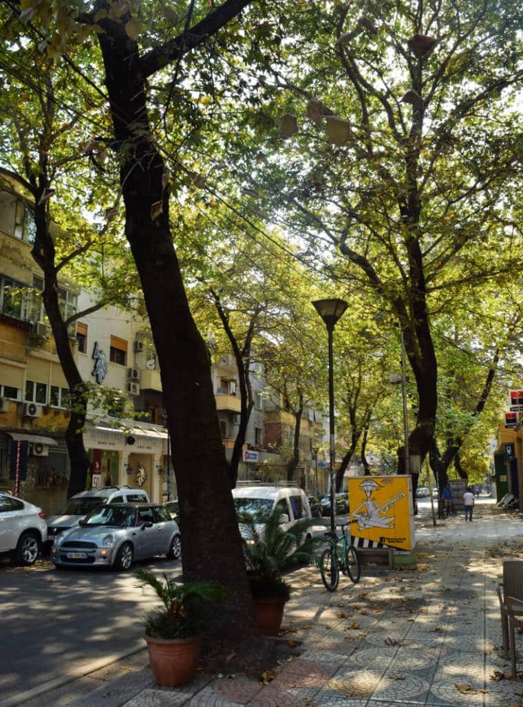 tirana albania rua
