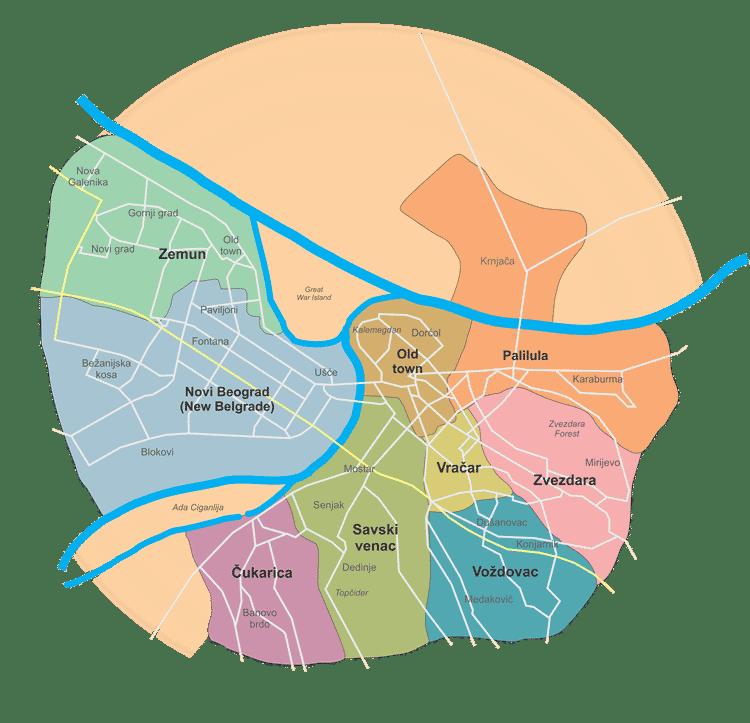 onde ficar em belgrado melhores bairros