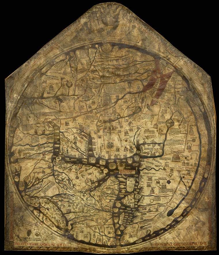 Hereford-mapa