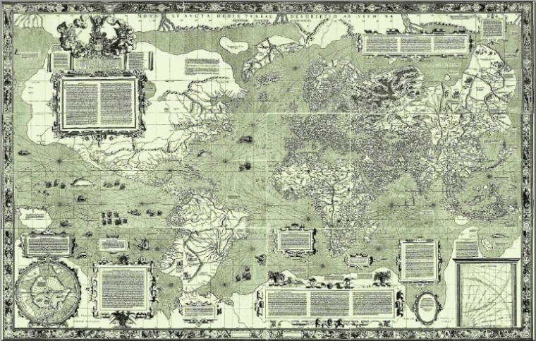 Mapa Mercator_1569