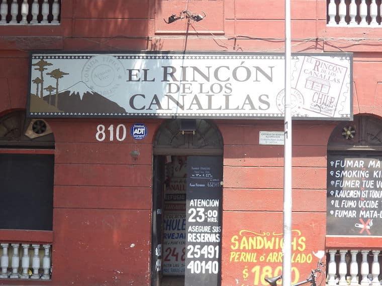Rincón de lo Canallas - Bar em Santiago