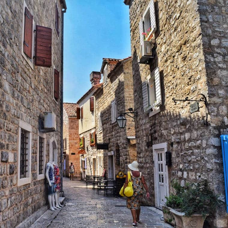 budva montenegro stari grad