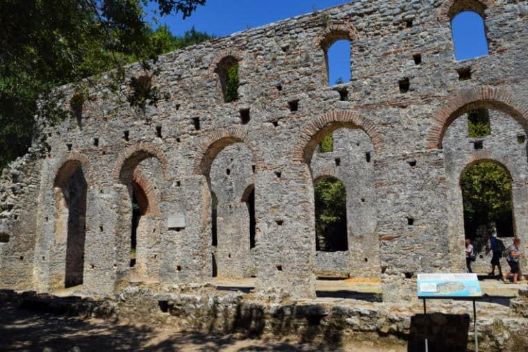 butrint albania antiga basilica