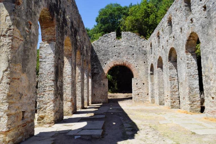 butrint albania basilica sec 6
