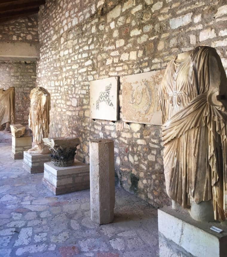 butrint albania museu ruinas