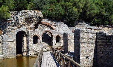 A antiga cidade de Butrint, na Albânia