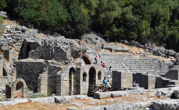 butrint albania ruinas