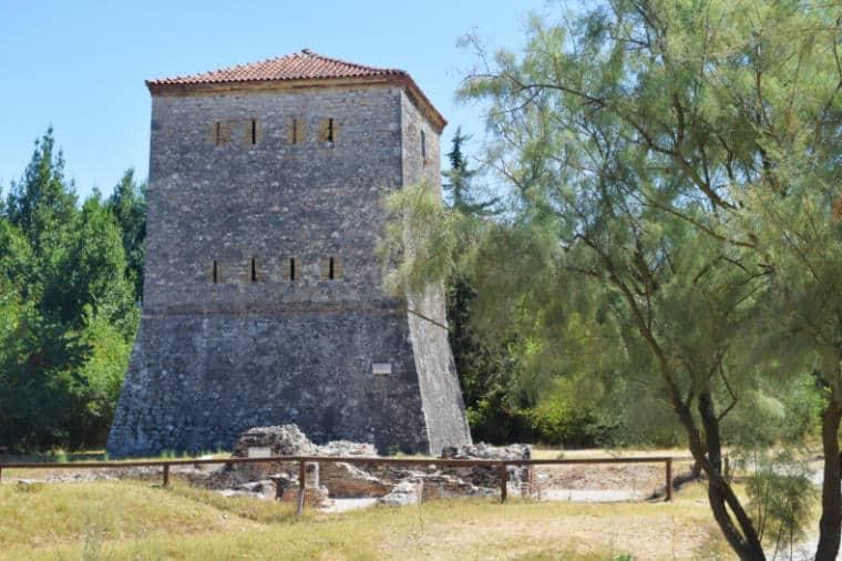 butrint albania torre veneziana
