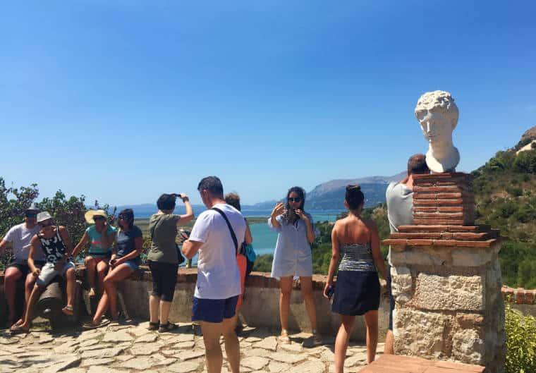 butrint albania vista mar