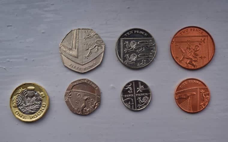 explicacao moedas de libra esterlina