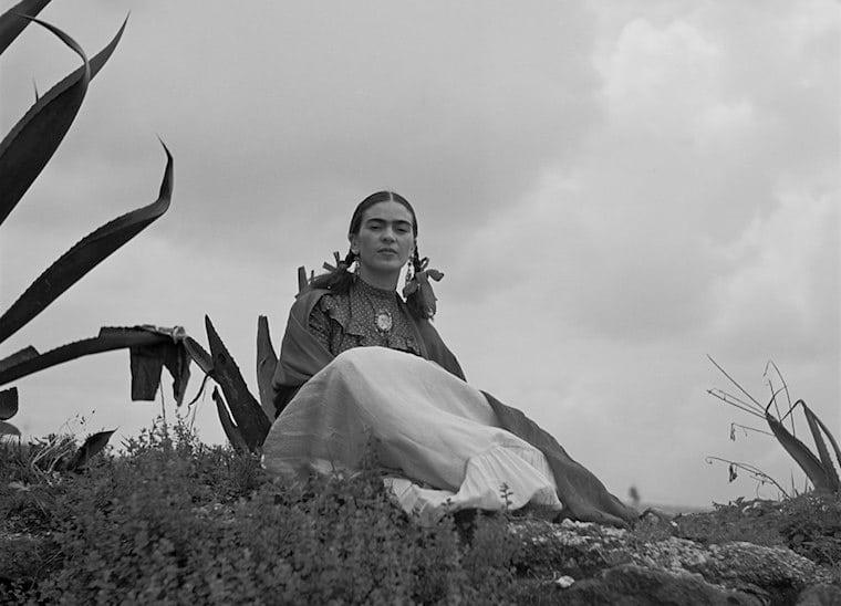 Frida Khalo em editorial para a Vogue