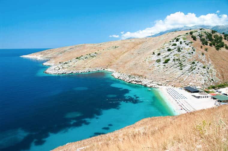 himare praias na albania