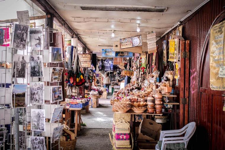 Mercado de Castro, em Chiloé