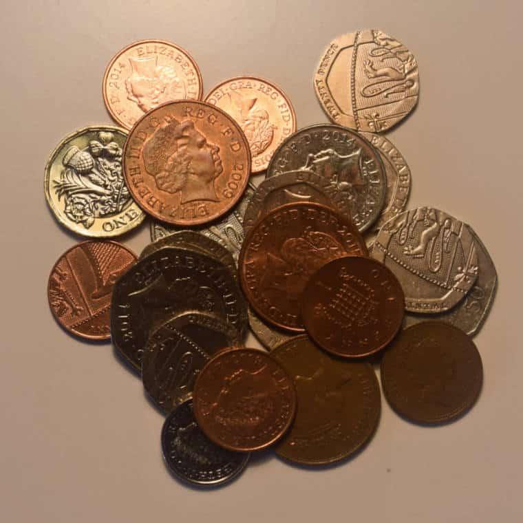 moedas reino unido