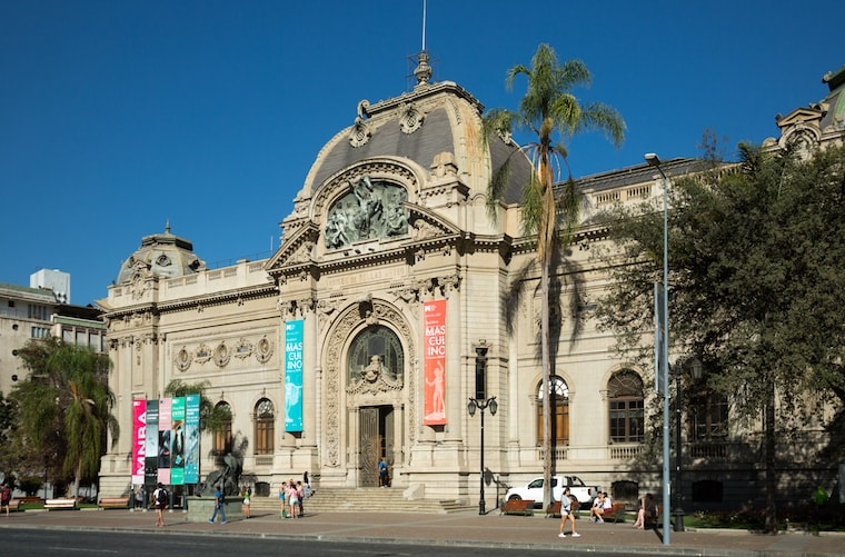 Museu Nacional de Belas Artes de Santiago do Chile