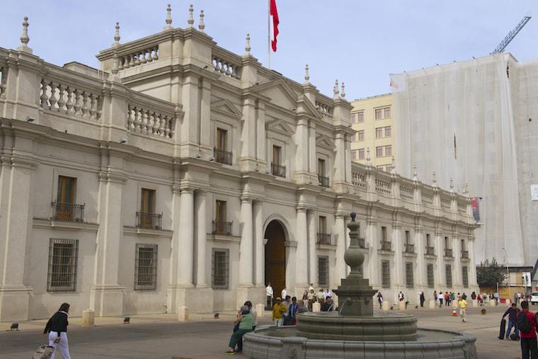 Palácio de la Moneda, Santiago do Chile