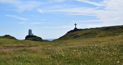 Llanddwyn Island, a bela ilha do amor no País de Gales